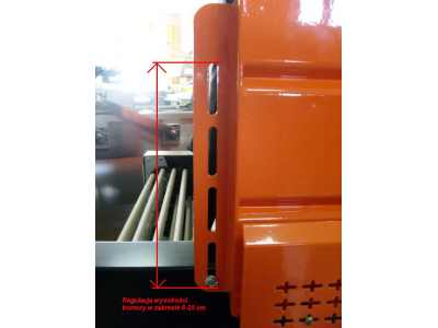 Tunel obkurczający BS 4535 LA rolki-313