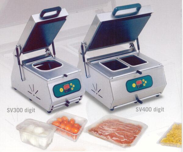 Traysealer do pakowania tacek SV 300-0