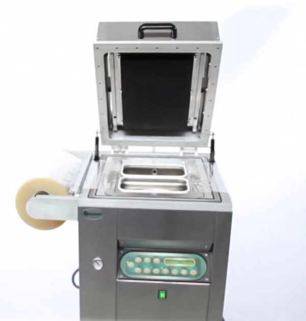 Traysealer do pakowania tacek lavezzini VG 800 LCD-2785