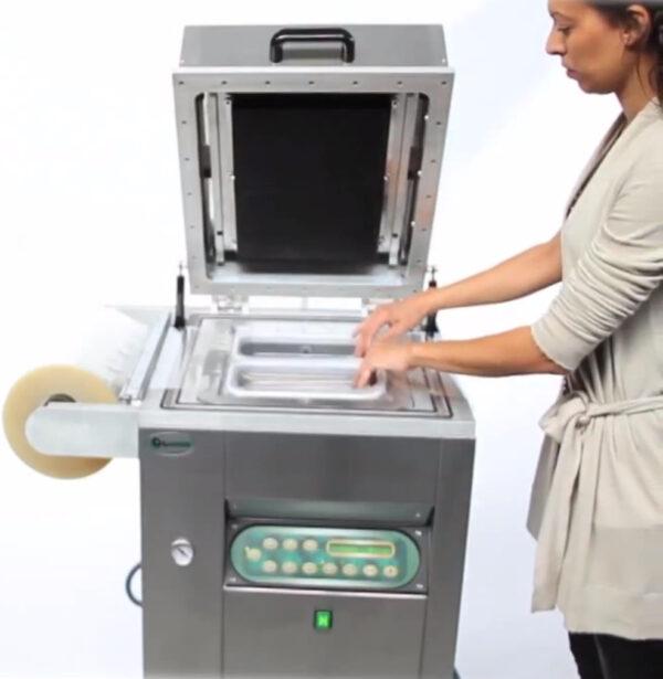 Traysealer do pakowania tacek lavezzini VG 800 LCD-2783