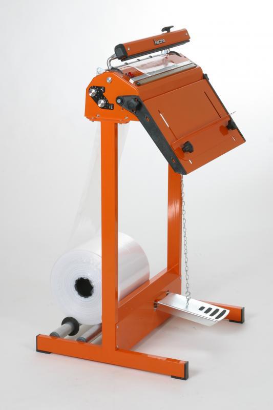 Zgrzewarka impulsowa do folii HACONA SID 620 inox 2x5mm-1499