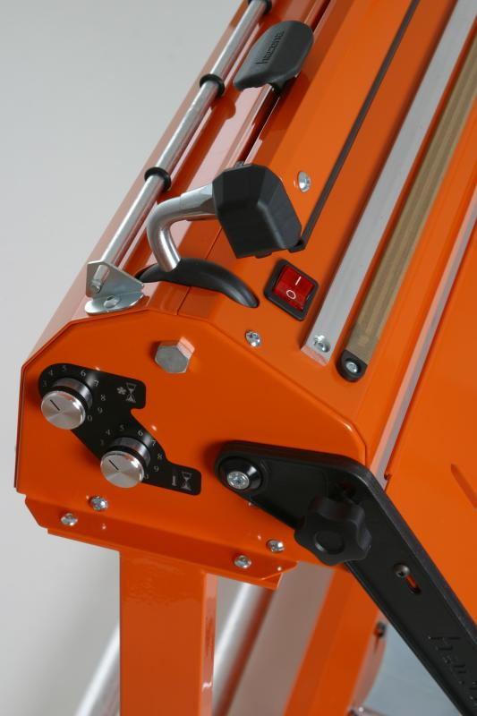 Zgrzewarka impulsowa do folii HACONA SID 620 inox 2x5mm-1492