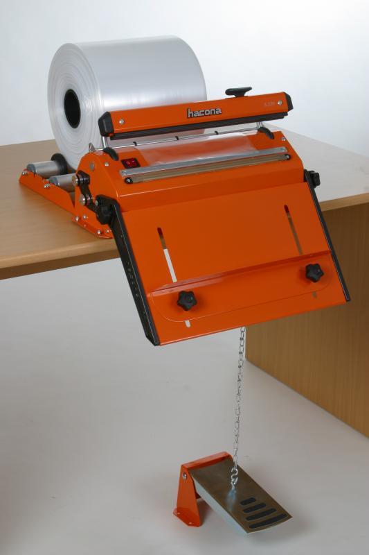 Zgrzewarka impulsowa do folii HACONA SID 620 inox 2x5mm-1494