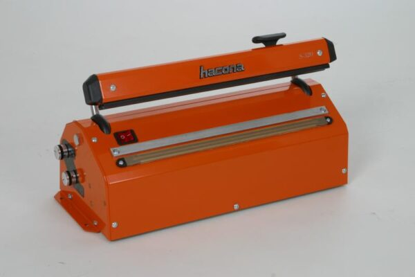 Zgrzewarka impulsowa do folii HACONA SID 620 inox 2x5mm-1495