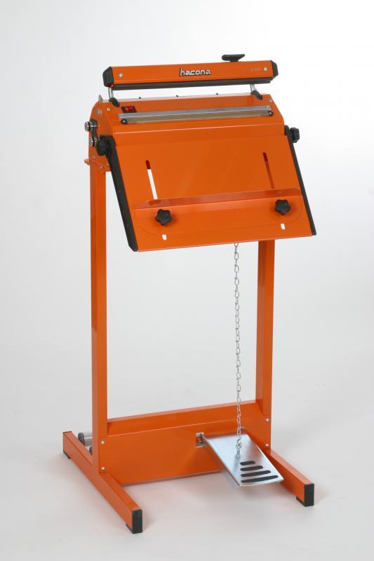 Zgrzewarka impulsowa do folii HACONA SID 620 inox 2x5mm-1493
