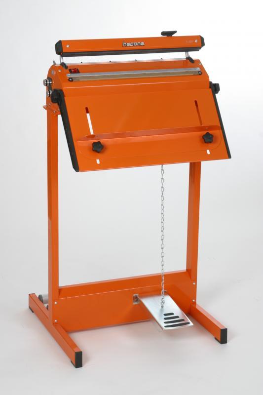Zgrzewarka impulsowa do folii HACONA SID 620 inox 2x5mm-1497