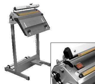 Zgrzewarka impulsowa do folii HACONA SID 420 inox 2x5mm zgrzew-0