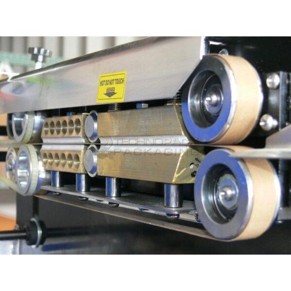 Zgrzewarka stałocieplna z taśmociągiem FRBM-810IIS-2317