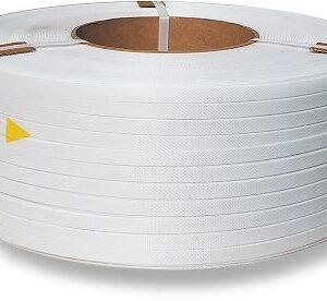 Taśma polipropylenowa PP 06 x 0.55/200/5500 m/biała-0